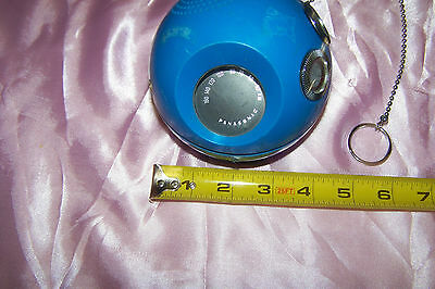 Vintage PANASONIC Panapet R-70 AM Transistor Radio BLUE BALL