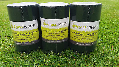 NEW Artificial Grass Single Side Joining  tape - For fake astro Grass/Turf 5m