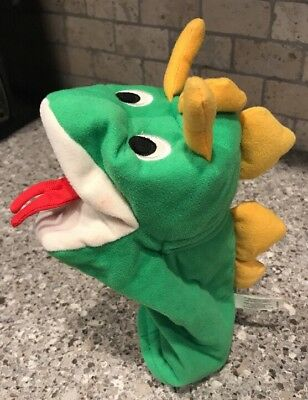 Baby Einstein Exersaucer Discover Play Replacement Part Green Dragon Puppet Toy