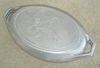 Vintage CRAFT AMERICAN DUCK THEME Aluminum Roaster Roasting Pan Dutch Oven