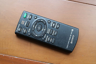Original Sony Digital Photo Frame Remote Control RMT-DPF10