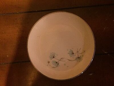 Taylor Smith Taylor Blue Lace Bread and Butter Plates x5