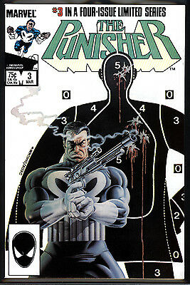 Punisher Limited Series #3 8.0 (VF): 1st Solo Series! Copper Age Key! $30 Value!