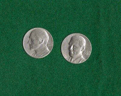 Clive Brook & Clark Gable popsicle prize tokens