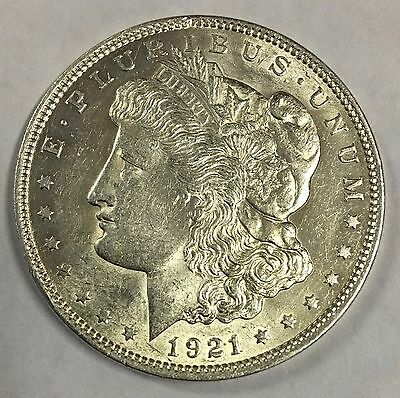 1921 Morgan Silver Dollar c#1