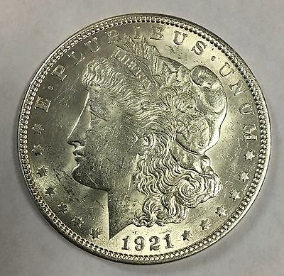 1921 Morgan Silver Dollar c#2