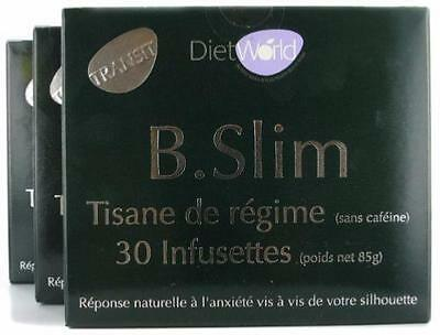 Diet world - B slim - 3 x 30 infusettes - La tisane minceur