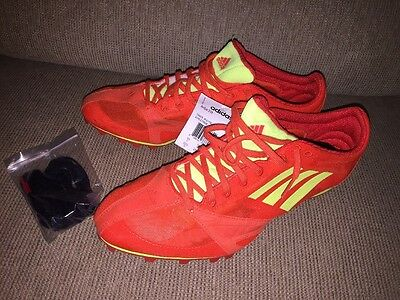 NWT~Adidas Track & Field~ARRIBA 3 M~Running Shoes with Cleats~Size Men's 10.5
