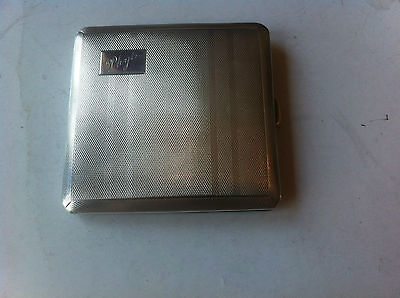 silver cigarette case  birmingham 1940 good codition (use as card case) REDUCED