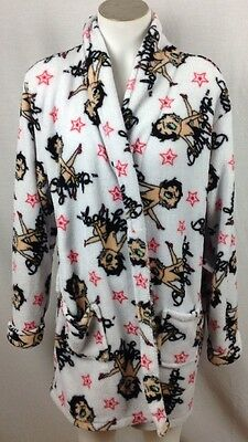 Betty Boop Graphic Bathrobe, Juniors size Large