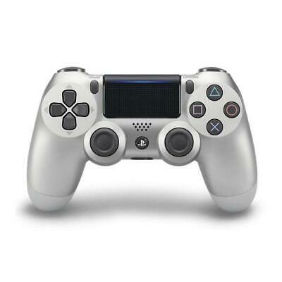 PS4 Controller Dualshock 4 V2 Silver Wireless 9895657
