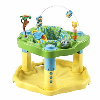 Evenflo Exersaucer BOUNCE & LEARN, Baby ACTIVITY CENTER, Zoo Friends