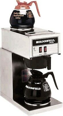 Bloomfield Koffee King 8543 Stainless Commercial Coffee Maker Brewer Pour New