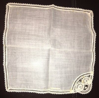 Antique Handkerchief Belgium Around The World Shoppers Club