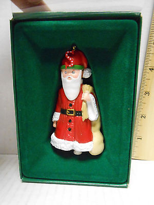 """Vintage 1986 Midwest Mary Engelbreit Pageant Ornament """"s"""" Is For  Santa"""