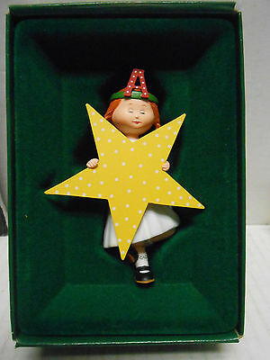 """Vintage 1986 Midwest Mary Engelbreit Pageant Ornament """"a """" Is For Angel"""