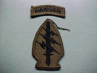 Vietnam War US Army Special Forces Ranger Patches  FS