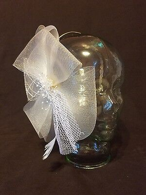 Vintage Wedding Brides Bridal Headband Hat