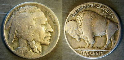 1929-D  Buffalo Nickel - AFFORDABLE COIN!   0508