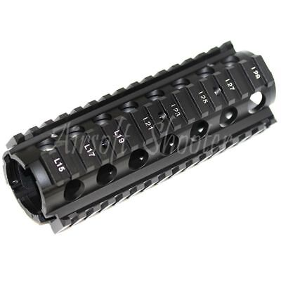 """Airsoft E/&C M4CQB RAS Front Set Handguard Rail System with 9.5/"""" Outer Barrel Kit"""