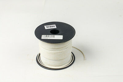 Building Wire Electrical Cable 0.1mm2 PVC Insulated 100m Roll of White Cables