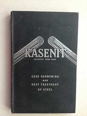 003503 Kasenit Case Hardening Compounds and Heat Treatment of Steel Hard Back