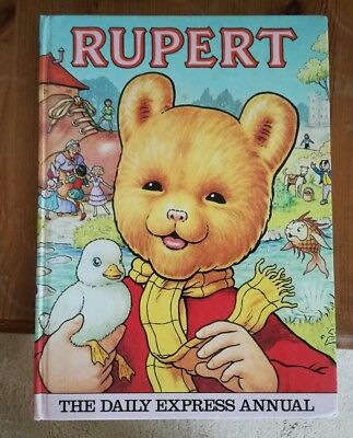 Collectable The Daily Express Rupert Annual book 1981 -  great clean condition