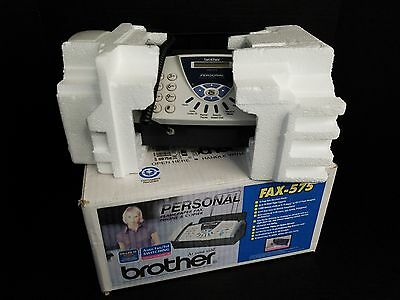 Brother FAX-575 Personal Fax, Phone, and Copier Original Packaging - A++ Item
