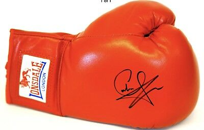 Carl Froch Signed Glove £50