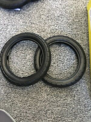 Replacement Back An Front  Tyres For Bugaboo Donkey Duo Full Set