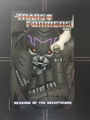 Transformers Vol. 3: Revenge of the Decepticons (Transformers)-Don Figueroa, Ale