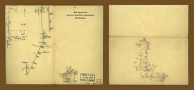 12x18 inch Reprint of American Military Map Antietam Battlefield