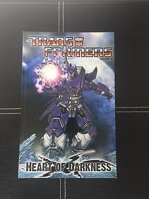 Transformers Vol. 4: Heart of Darkness (Transformers (Idw)),PB,Ulises Farinas,