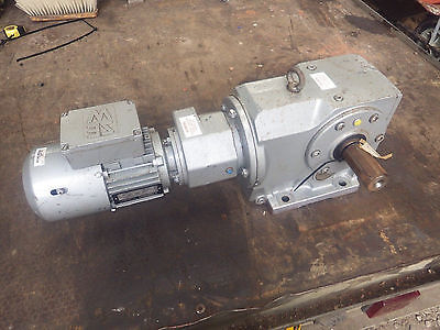 Eurodrive K76R 3 Phase Motor With 360:1 Rh Gearbox.