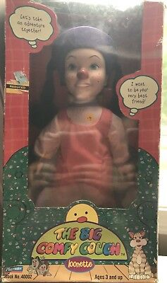 1997 Playmates The Big Comfy Couch Loonette Doll