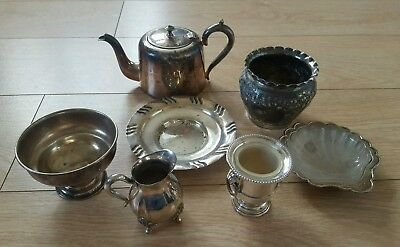Job Lot Vintage Epns Silver Plated  Items Viners Sheffield