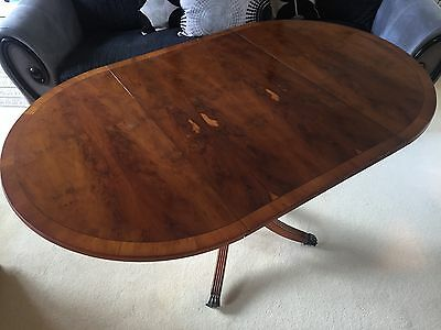 Antique Victorian Walnut folding out dining table