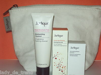 Jurlique - Activating and Firming  Skin Care Set + Jurlique Pouch
