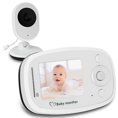 Baby Monitor with HD Video Camera Infrared Night Vision Two-way Talk Back System
