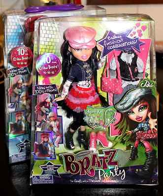 BRATZ PARTY - 10th Anniversary (2010) JADE - BRAND NEW, UNOPENED COLLECTIBLE