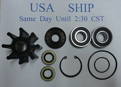 Repair kit for Mercruiser Bravo Raw Water Pump 46-807151A9 807151A12 W/ Impeller