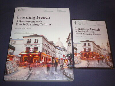 Teaching Co Great Courses DVDs  :       LEARNING FRENCH    brand new