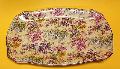 BCM Nelson Ware Heather 8-1/4 Inches Trinket Tray Chintz China England