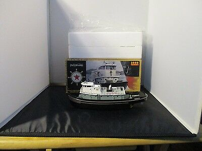 TEXACO FIRE CHIEF TUGBOAT BANK #1 - ERTL COLLECTIBLES 2000 Tug Boat Oil Gas