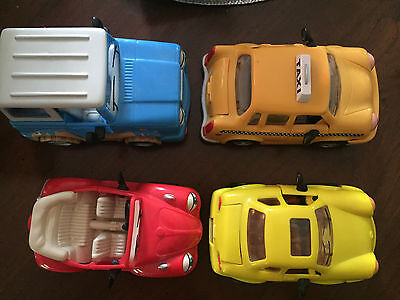 Lot of 4 Chevron Cars