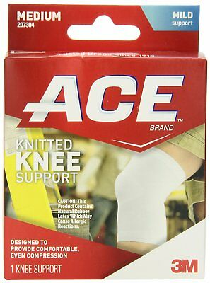 ACE Knitted Knee Brace Anatomical shape joint protection Medium Breathable NEW