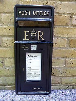 Post Box. Genuine. Post Office. Er11  Front. Fully Restored. Royal Mail. C. 1980