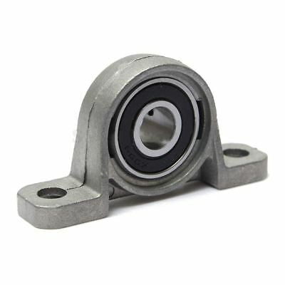 Zinc Alloy KP000 10mm Bore Diameter Ball Bearing Pillow Block Mounted I2Q2