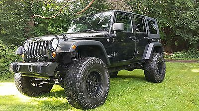2008 Jeep Wrangler Rubicon Unlimited 2008 Jeep Wrangler Rubicon Unlimited - Dual Tops - Low Miles - Manual