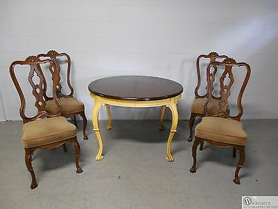 HICKORY Furniture  Italian Tuscany Style Table and 4 Chair Set 1137-41